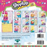 Shopkins 2016 calendar back