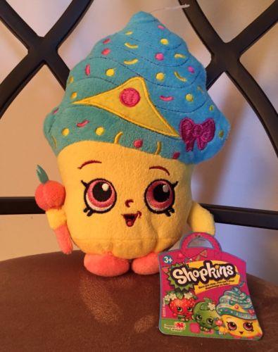 Shopkins Plush Cupcake Queen Unofficial PicJPG