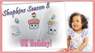 How to Draw Shopkins Season 8 Step by Step Easy Freddy Fish 'N' Chips, Kingsley Crown, Yvonne Scone