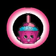 Translucent Cupcake Chic Charm art