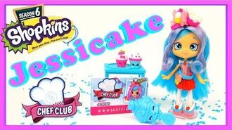Shopkins Shoppies Chef Club Jessicake Doll Shopkins Season 6 Doll Shopkins