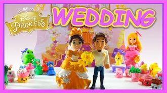 Disney Princess Little Kingdom Rapunzels Royal Wedding Set The Tangled Wedding