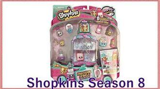 Shopkins Season 8 Precious Jewels Collection (Exclusive Shopkins!)