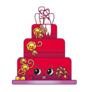 Wendy wedding cake variant