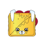 Tasty toast ct art