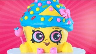 SHOPKINS CUPCAKE QUEEN CAKE - NERDY NUMMIES