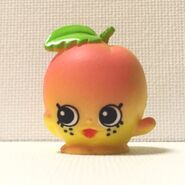 April apricot toy fridge