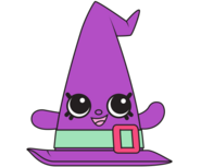 Witchy Hat Purple Artwork