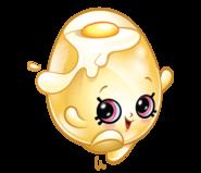 Shelly egg art