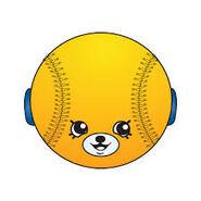 Bessy baseball art
