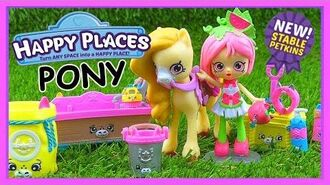 Shopkins Happy Places Welcome Pack - Pampered Pony Crumbles