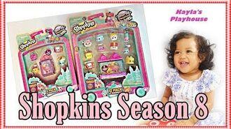 Shopkins Season 8 World Vacation 12 Pack 5 Pack Shopkins-1