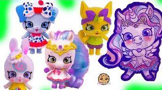 Fuzzy Shoppet Petkins Shopkins Pets Season 9 Wild Style Toys Surprise Blind Bags