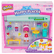 Happy Places Shopkins Welcome Pack Mousy Hangout