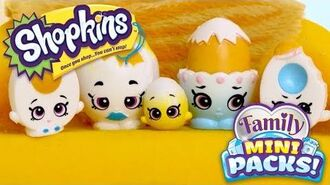 SHOPKINS Family Mini Packs S11 - Easter Freakout! With The Eggertons - Webisode
