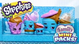 SHOPKINS Family Mini Packs S11 - Trapped in the Freezer! With The Drinky Dinks - Webisode