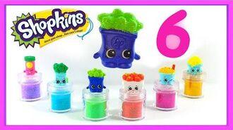 6 Shopkins Season 6 Glitter Shopkins! with a Special Edition! shopkinsseason6
