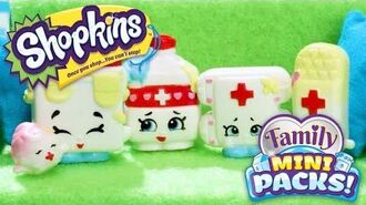 SHOPKINS Family Mini Packs S11 - Billy Bandage has a broken heart… With The Bumps - Webisode