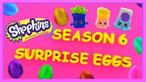 Shopkins Season 6 New Color Changing Surprise Eggs Shopkinsseason6