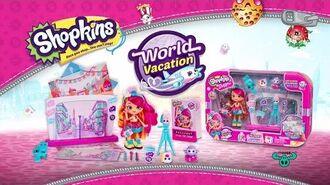 Shopkins Shoppies Season 8 Official - Zoe Zoom World Vacation - Kids Toy Commercials