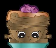 Berry sweet pancakes ct art