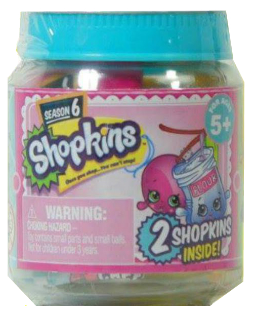 Shopkins Season 6 Jar