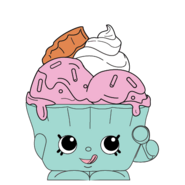 Ice cream queen easter ct art