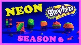 Shopkins Season 6 Glow in the dark Shopkins Arts & Crafts shopkinsseason6