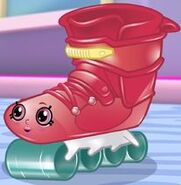 Lola Roller Blade Cartoon