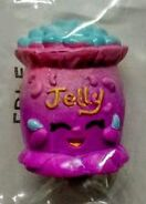 Jelly b food fair purple toy