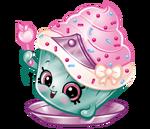 Cupcake princess art