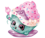 Cupcake princess art