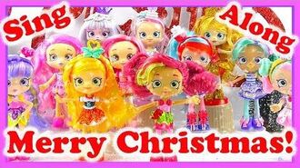 MERRY CHRISTMAS! Hark the Herald Angels Sing Shopkins Christmas song for kids