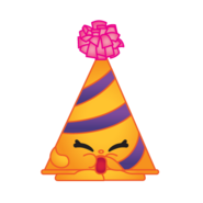 Marty party hat art