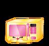 SPKS2 PNGs HOMEWARES Zappy-Microwave