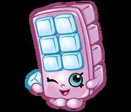 Blocky ice cube art