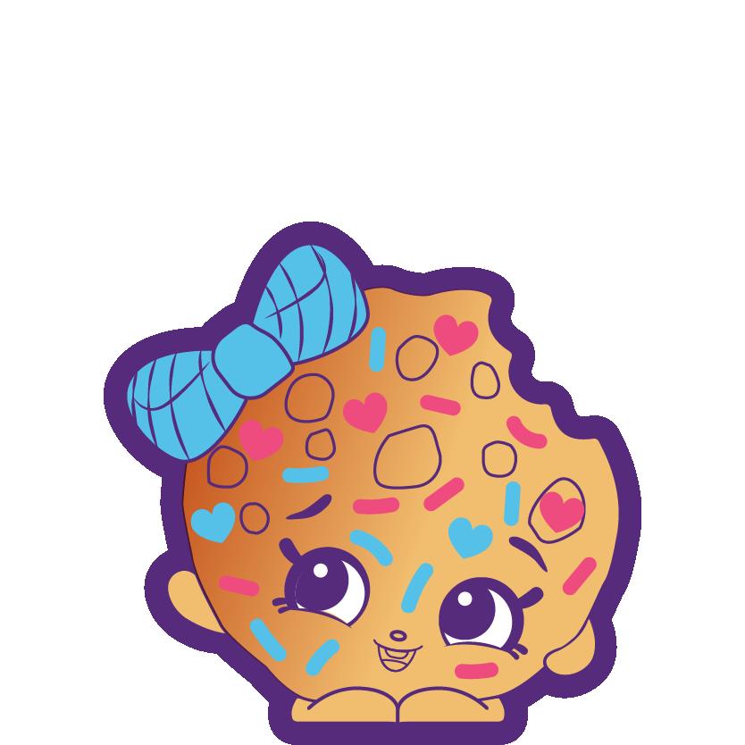 Donut Cartoon Shopkins - Clip Art Library