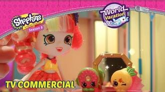 30s Shopkins Shoppies Season 8 Official World Vacation - The Americas