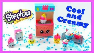 Shopkins Cool and Creamy Collection Food Deluxe Pack - 8 Exclusive Shopkins