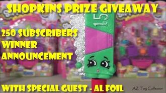 SHOPKINS GIVEAWAY 2015 - SEASON 2