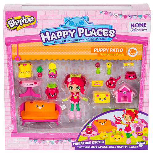Shopkins Happy Places Welcome Pack   Puppy Patio