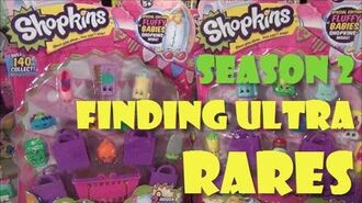 Shopkins Season 2 Unboxing - 4 ULTRA RARES