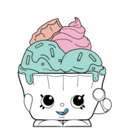 Ice cream queen easter ct variant art