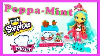 Shopkins Shoppies Chef Club Peppa Mint Doll Shopkins Season 6 Doll Shopkins