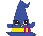 Witchy Hat Blue Artwork