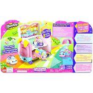 Play 'n' Display Rainbow Cupcake Van Backcard
