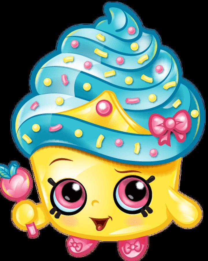Coloring and Drawing: Shopkins Cupcake Princess Coloring Page