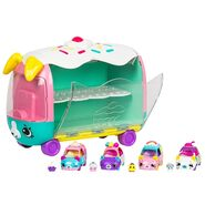 Play 'n' Display Rainbow Cupcake Van Unboxed