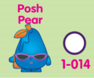 Posh pear collectors poster artwork
