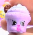 Creamy Cookie Cupcake Purple